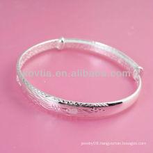 sterling silver bangle bracelets wholesale 925 sliver bracelet men