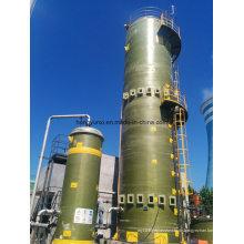 Rauchgas-Entschwefelungs-Fiberglasturm
