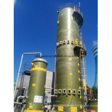 Flue Gas Desulphurization Fiberglass Tower