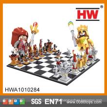 Conjunto de jogo de plástico Chassis DIY 2158PCS Conjunto de xadrez 3D
