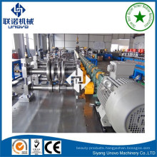 Lip channel light section roll forming machine