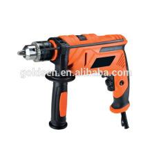FFU 13 milímetros 710W Power Concreto Steel Wood Bore Cutting Impacto Drill Machine Drill portátil Hand Held Straight Electric Drills