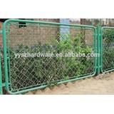 High quality factory price supply used chain link fence for sale, chain link fence