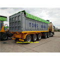 Tri-axle 32 Ton End Dump Trailers