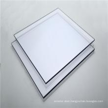 Unbreakable solid polycarbonate sheet for bathroom door