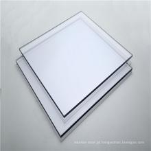 Folha de policarbonato sólido inquebrável para porta de banheiro