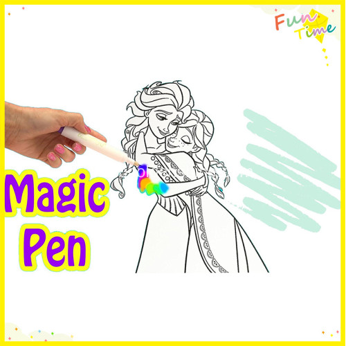 Magic Color And Play Game Book
