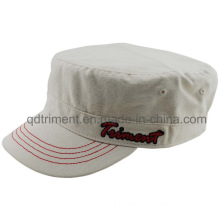 Popular Washed Cotton Canvas Army Military Hat (TM8154-1)