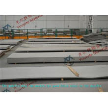 Anneal Mirror No.1 No.4 Polished Stainless Steel Sheets / H