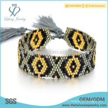 Popular bohemian bracelets,seed beads jewelry bracelets for women