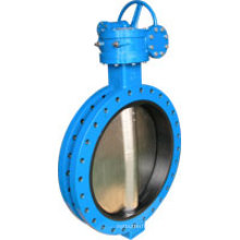 U Type Butterfly Valve with Gear Operator