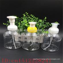 Bouteille de shampooing à bouteille de pompe à mousse en plastique de 500 ml