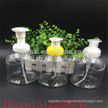 500ml plastic foam pump bottle shampoo bottle