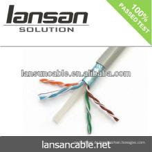 LANSAN 1000ft hohe Geschwindigkeit utp / ftp cat6 lan Kabel 100% Fluke pass UL ANATEL Zulassung