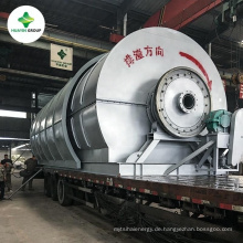 gebrauchte Reifen-Recycling-Maschine für Ofenöl