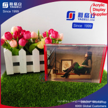 2017 Yageli Large Size Various Customized PMMA Picture Frame
