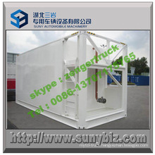 7200 Gallon Mobile Oil Tanker Statation Container
