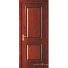 Dois painel vermelho pintado folheadas Swing Interior MDF portas para Hotel