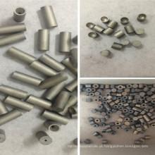 Carboneto de tungstênio para pontas não padronizadas de buchas de perfuração