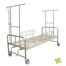 Two Cranks Manual Medical Care Bed