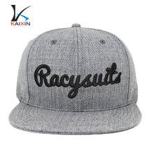 2017 sombreros de snapback promocionales de encargo de la marca del OEM al por mayor