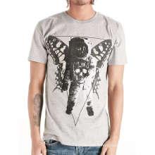 T-shirt gris hommes Hotsale gris personnalisé de coton de mode Sprint