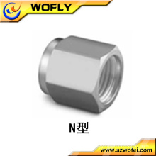 stainless steel 304 tube connecting pipe bolt nut
