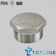 Aço inoxidável Hex Plug (acessórios para tubos roscados)
