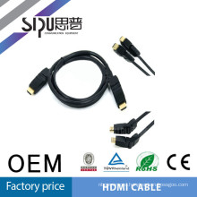 SIPU All New HDMI to HDMI 360 Rotating Cable with 19pin 100% Testing