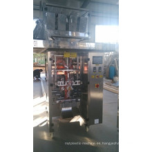 Máquina automática de envasado de sellado, llenado y llenado vertical de gránulos