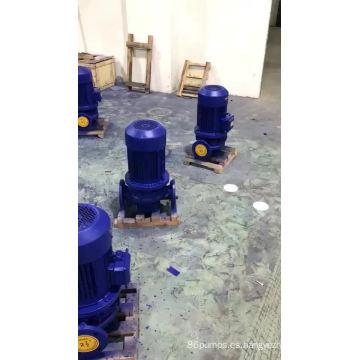Bomba centrífuga de alta presión horizontal serie ISW