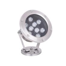 9W Stainless Steel Waterproof LED Underwater spot Lights