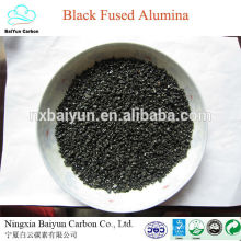 Hersteller-Verkaufs-hoher Reinheitsgrad Schwarzes verschmolzenes Aluminiumoxid / schwarzes geschmolzenes Aluminiumoxid