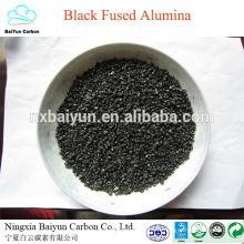 Les ventes de fabricant de haute pureté noir ont fusionné l'oxyde d'aluminium / alumine fusionnée noire
