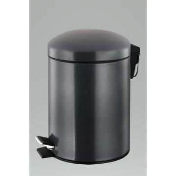 Black Stainless Steel Garbage Bin