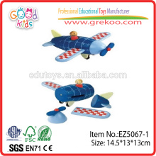 Hot Sale Kids Toy d'avion magnétique en bois