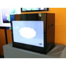 Exposição transparente do LCD do toque bonito do IR 42inch