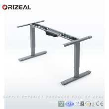 First time offered Sit to stand dual motor new computer desk office standing desks with controller