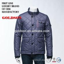 Fabrication de vestes en peau d'oie brillant pour hommes Zhejiang Brand Clothing
