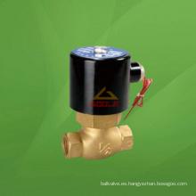 Válvula solenoide roscada de bronce (GA2L)