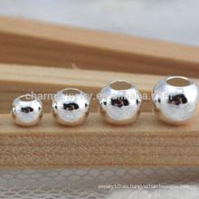 Fábrica de accesorios de joyería DIY directa 2-8mm plata esterlina perlas accesorios de joyería SEF009