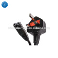1.8m standard UL power cord with molded plug with MOQ 50 SETS