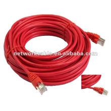 Fluke ha probado el cable de cable de remiendo del cable lan