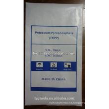 Fabricante de grado alimenticio de pirofosfato de potasio CAS NO 7320-34-5
