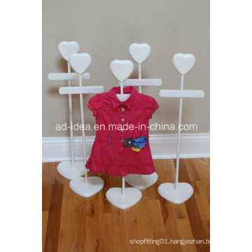 White Display Stand/ Exhibition for Store Garment Promotion
