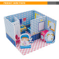 3D Puzzle Bathroom Play At Home Cardboard Toy House