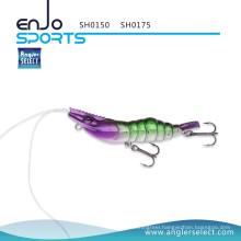 Angler Select Fishing Tackle Shrimp Shallow Lure with Vmc Treble Hooks (SH0150)