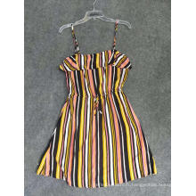 Vêtements de mode dames imprimé robe en viscose