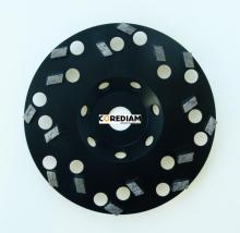 Diamond 115MM cakera dengan Segmen-segmen Khas pengisaran