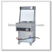 K505 Abre inoxidável de bancada em aço inoxidável 1 Caldeira de molho de castanha eletrica